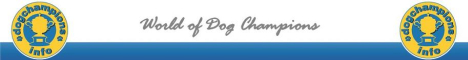 World of Dog Champions - Dog Champion Information Portal